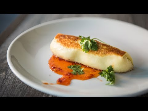 How to Make Kitchen Sink Food and Drink's Sweet Crab Blintz
