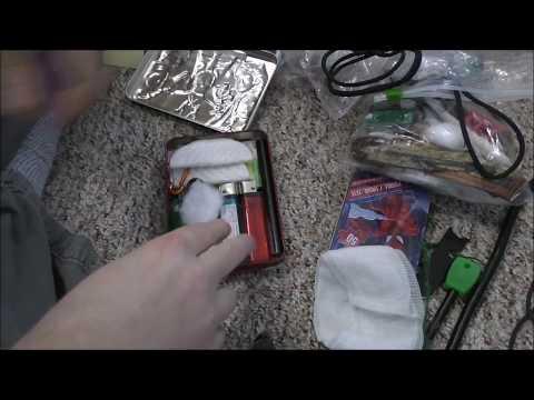 Going Through My DIY FIre Starter Kits