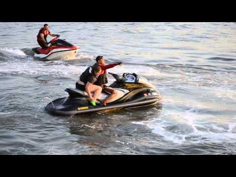 Jetski Tricks on the water