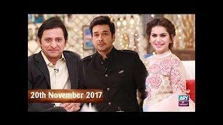 Salam Zindagi With Faysal Qureshi - Cast of Rangreza - 20th November 2017