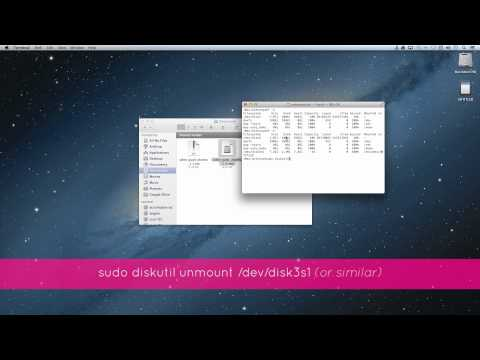 UDOO - Creating a bootable Micro SD card with Mac OS X from image