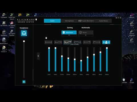 Alienware Sound Center  [Best Sound Optimization Settings] Dell PC/Laptop