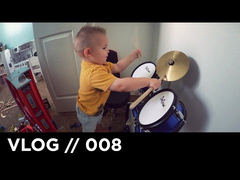 ONE YEAR OLD DRUMMER!