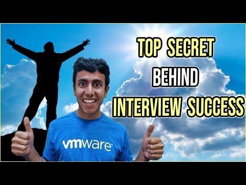 Top Secret Behind Interview Success   Jobs/Internships in US