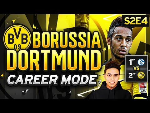 FIFA 16 Dortmund Career Mode - 1ST VS 2ND! TOURE ON FIRE! - S2E4