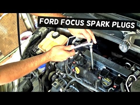 FORD FOCUS SPARK PLUG AND IGNITION COIL REPLACEMENT