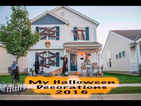My Halloween Decorations 2016