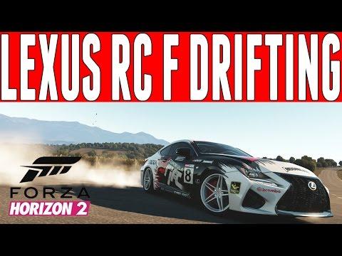 Forza Horizon 2 Top Gear Drift Build : Lexus RC F Drift Build - Top Gear DLC