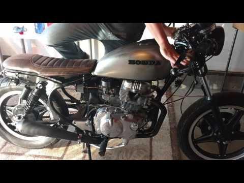 Honda CM400T Cafe Racer Build PART 10  - First Fire