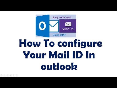 how to configure email id in outlook