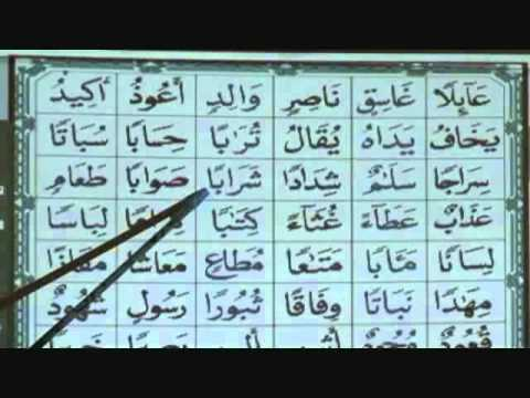 Reading Arabic and Quran script: Lesson 7