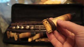 Manvel Mnatsakanyan explains how to prepare reed for duduk