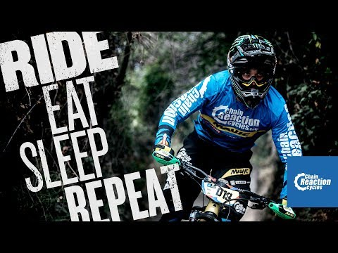 Ride. Eat. Sleep. Repeat.