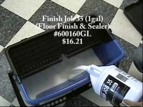 Janilink Microfiber Wax Basin Set, Microfiber flat mop, Microfiber rags, and Microfiber mops