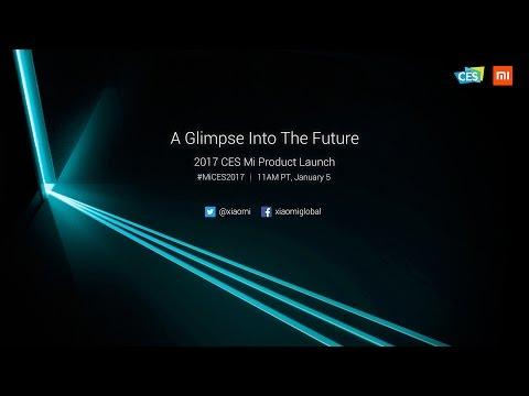 2017 CES Mi Product Launch - Mi MIX White + Mi Router HD + Mi TV 4