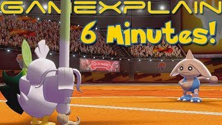 6 Minutes of Pokémon Sword & Shield SPOILER-FREE Gameplay! (Fighting Gym Trial, Sirfetch'd & More!)