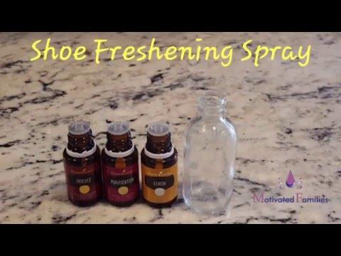 Shoe Freshening Spray