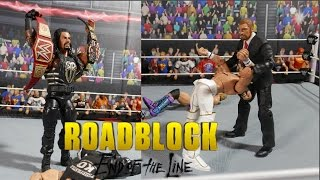 WWE Roadblock: The End of the Line - Top 5 Things That Need To Happen   WWE Figures
