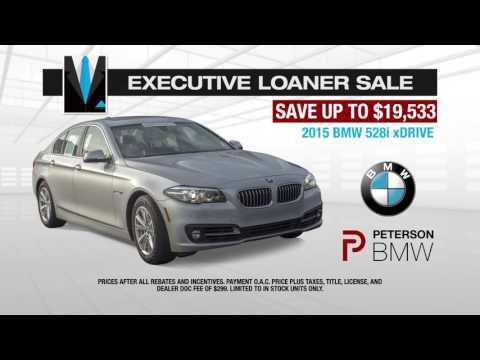 Executive Loaner Sale 528i   Peterson BMW