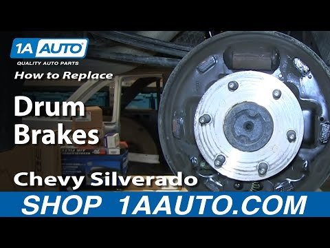 How To Install Do a Rear Drum Brake Job 2007-13 Chevy Silverado GMC Sierra