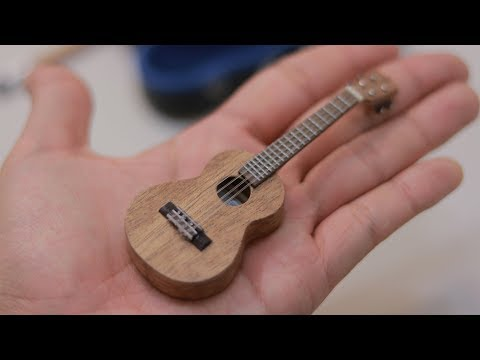 Miniature Ukulele Making