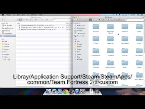 How to Install Team Fortress 2 Mods on Mac OS X (VPK/SteamPipe)