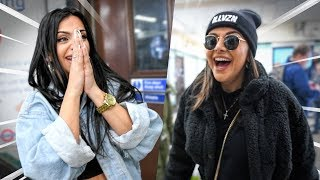 I SURPRISED MY BEST FRIENDS WITH A GIANT BILLBOARD!!! **SHE CRIED**