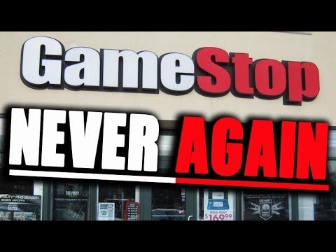 GAMESTOP RANT VIDEO 2018 - Will You Shop There AGAIN