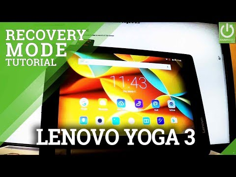 Recovery Mode in LENOVO Yoga 3 - Enter / Quit LENOVO RECOVERY