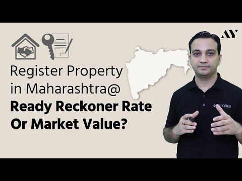 Ready Reckoner Rate - Annual Statement of Rates, IGR Maharashtra