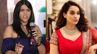 Ekta Kapoor Takes A DIG At Kangana Ranaut Viral AIB Video
