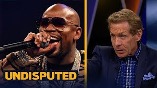 Floyd Mayweather says Conor McGregor has the edge in their fight - is he right? | UNDISPUTED