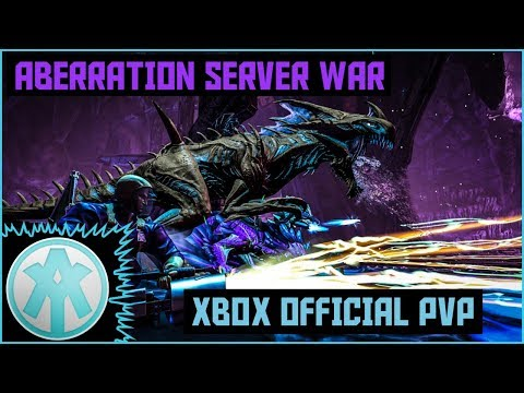Ark Xbox Official Aberration Server War l We WIPED ALL!