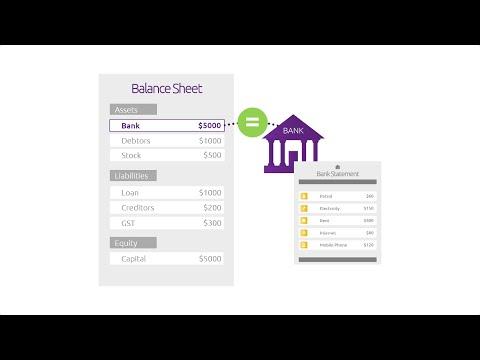 Reconciling bank accounts