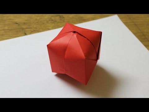 How to make a paper balloon that blows up