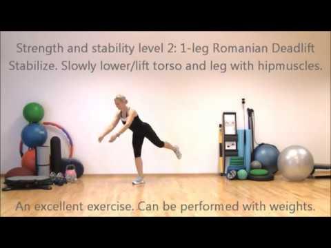 Strong legs Stable knees Super shape II | Marina Aagaard, MFE