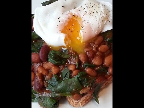 Curried Mixed Beans With Spinach