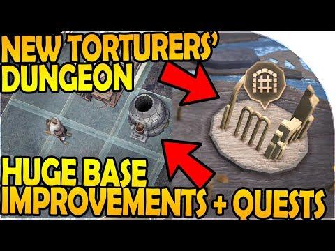 NEW TORTURERS' DUNGEON + HUGE BASE IMPROVEMENTS (LDoE x GoT) - Grim Soul Dark Fantasy Survival