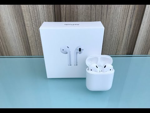 [2017] Apple AirPods Unboxing! (4K)