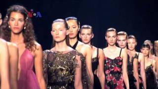 Industri Fashion Memasuki New York Fashion Week - Liputan Ekonomi VOA