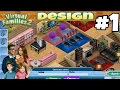 Virtual Families 2 House Design #1 First House