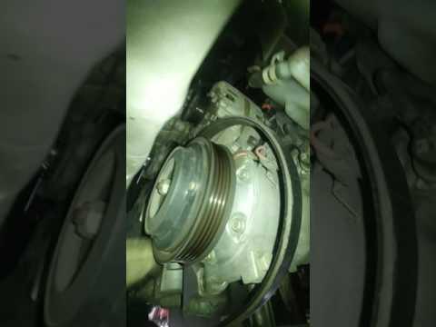 2011 HHR Alternator replacement part one.