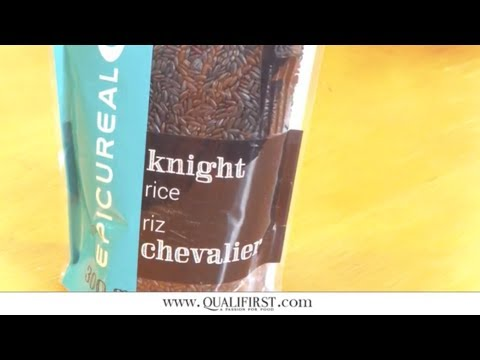 What's a Nutritionally Rich & Beautiful Rice? Epicureal Knight Rice | Qualifirst Questions