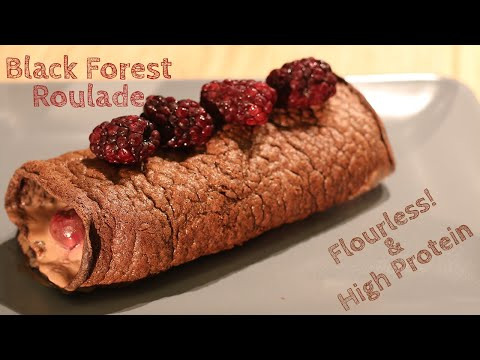 Black Forest Roulade Recipe