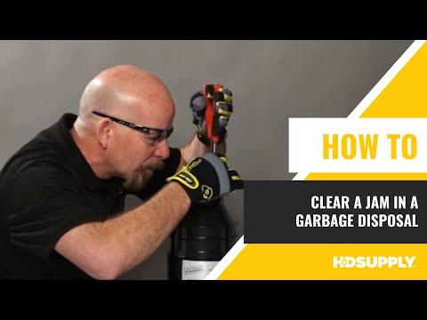 How to Clear a Jam in a Garbage Disposal - Maintenance Warehouse - HD Supply Facilities Maintenance