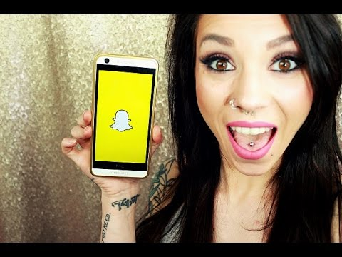 ANNOUNCEMENT: I MADE A SNAP CHAT!