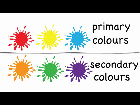 Learn Primary & Secondary Colors | Colours for Kids, Toddlers, Infants | Kids Learning