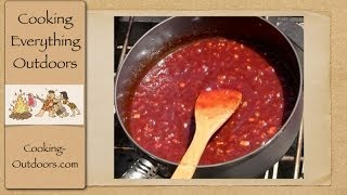 How To Make Homemade Bbq Sauce Cooking Outdoors Gary House