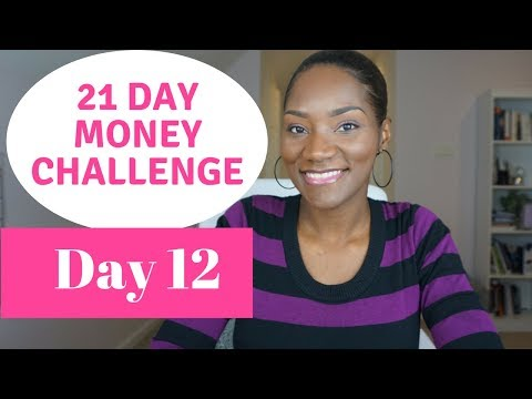 21 Day Money Challenge   Day 12   FrugalChic is the New Black    New Year, New Money