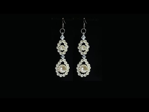 Pearl Earrings Tutorial Quick And Easy Fashion Jewelry DIY